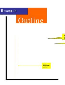 Detailed outline for research paper mla